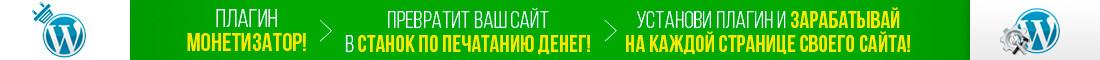 Плагин МОНЕТИЗАТОР